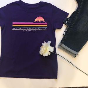 Tops - Albuquerque New Mexico short sleeve tee size large